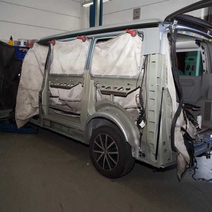 VW T5 neue Seitenwand Image