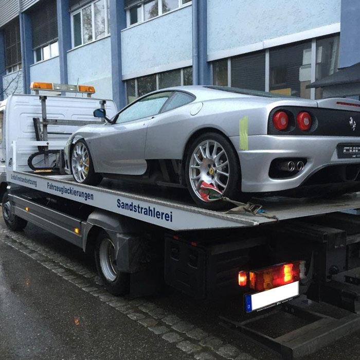 Ferrari Instandsetzung/Teillackierung Image
